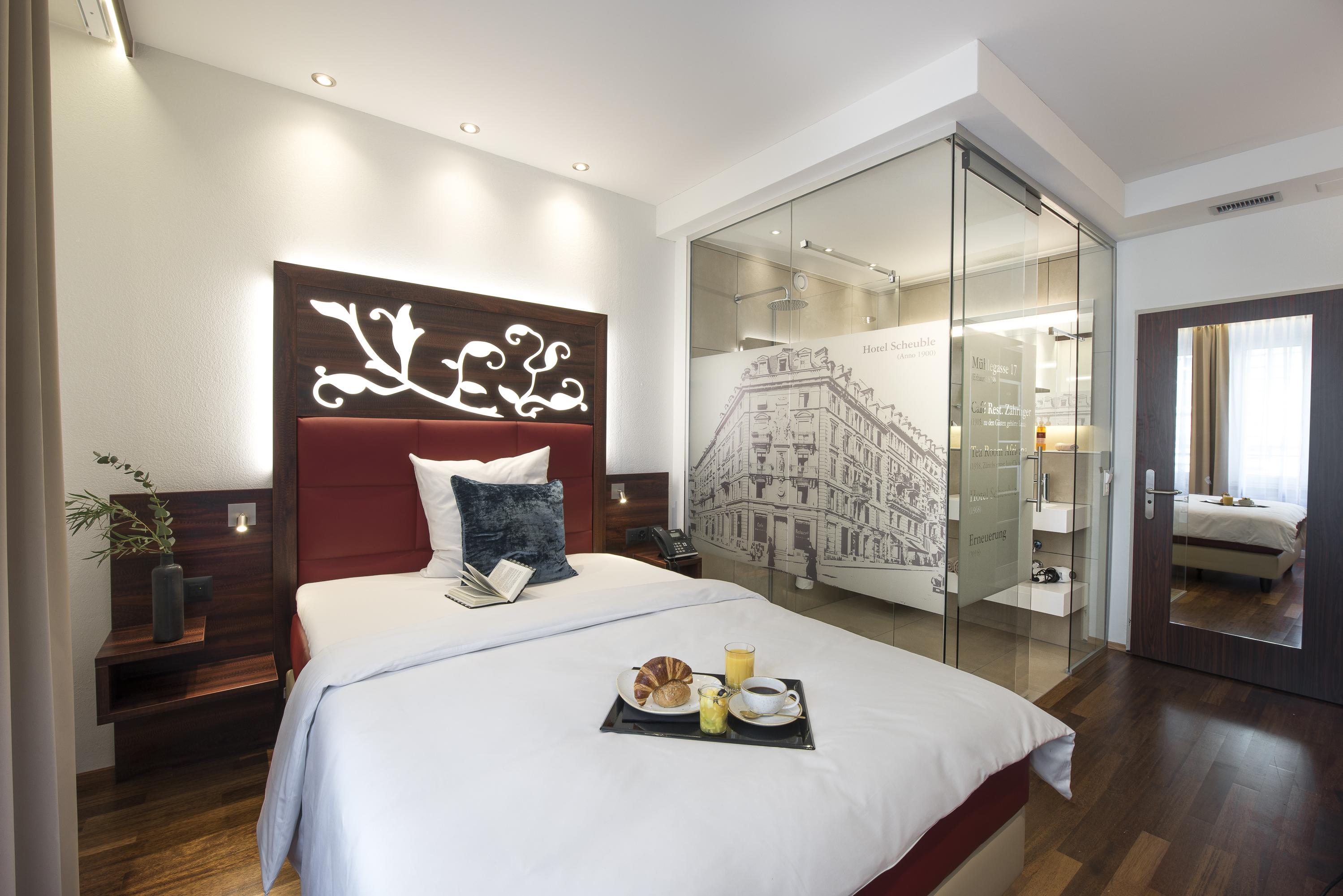 Hotelzimmer von Scheuble