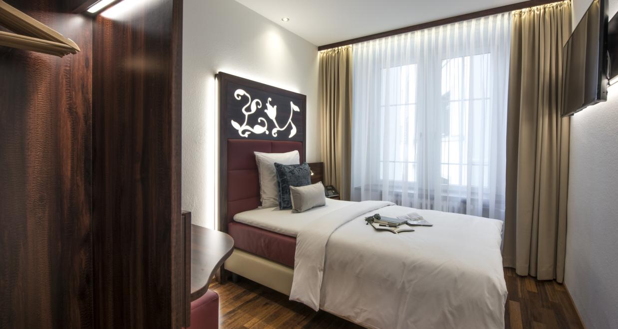 Einzelzimmer buchen im Hotel Scheuble