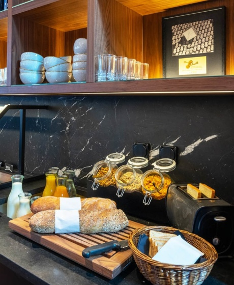Einzigartiges Frühstück bei Hotel Scheuble
